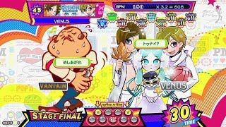 【pop'n music】 SHION (VENUS mix) [EX] FC (Hand Shot)
