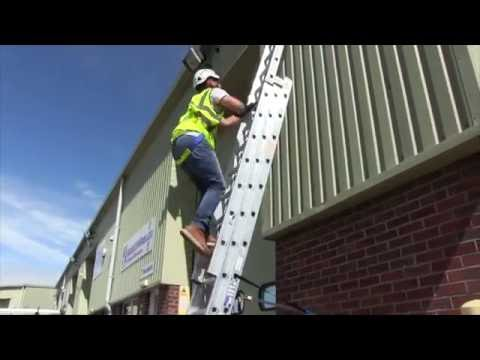 Ladder Fall Protection Kit Youtube