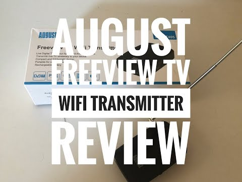 'August' Freeview TV WiFi Transmitter Review