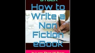How To Write An eBook For Kindle - That Will Make You A Passive Monthly Income