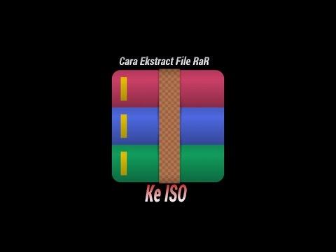 Cara Ekstrak file RAR KE ISO Untuk PPSSPP