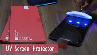 Case U Tempered Glass for OnePlus 7 Pro - UV Screen Protector with Installation kit its different !