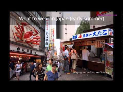 What to wear in Japan (early summer) / slideshow /