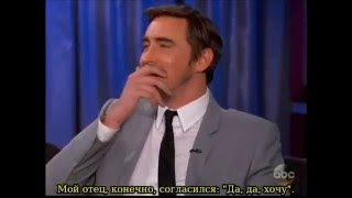 Ли на шоу Джимми Киммела 15 декабря 2014. г (русские субтитры)