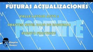 INFORMATION: VALLE LATOSO ACT 3 - CRAFTEO ESQUEMA - FROSTNITE / FORTNITE SAVE THE WORLD