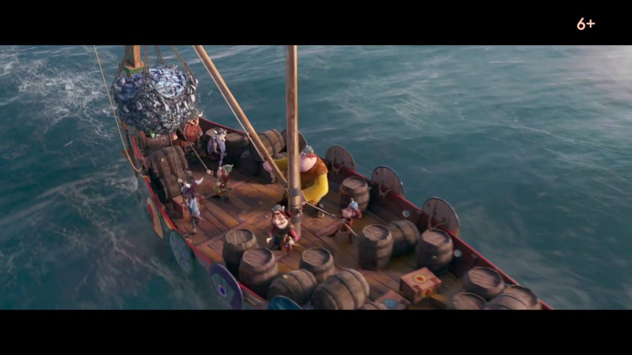 Download Викинг Вик/Vic the Viking and the Magic Sword (2019) второй дублированный трейлер HD
