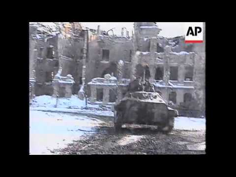 RUSSIA: CHECHNYA: BATTLE FOR GROZNY INTENSIFIES