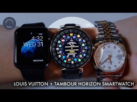 Louis Vuitton Tambour Horizon 42 Smartwatch Review: Part Two