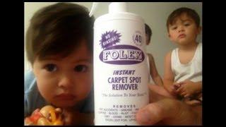 Best Carpet Cleaner on the Market: Demo of Folex Instant Carpet Spot Remover(, 2013-09-01T16:24:58.000Z)