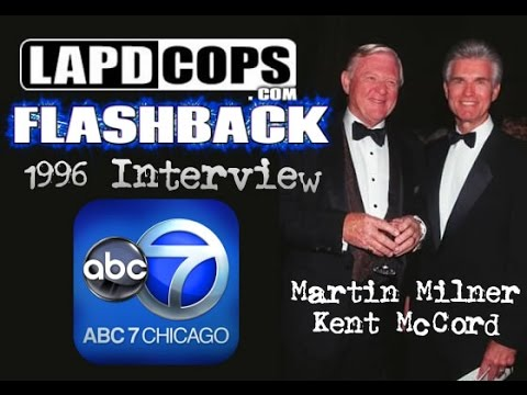 LAPDCOPS FLASHBACK: Martin Milner & Kent McCord - 1996 Interview