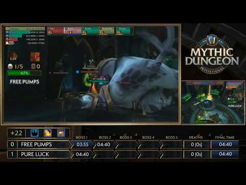 Asia-Pacific! MDI Mythic Dungeon Tournament! Free Pumps vs Pure Luck