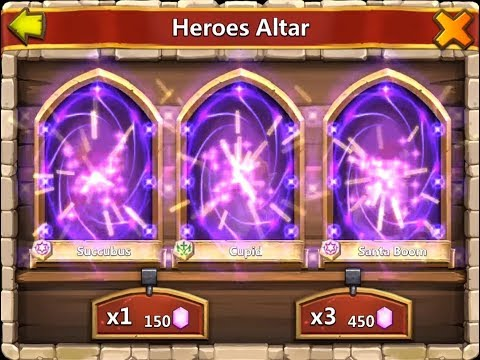 HOW TO GET A LEGENDARY HERO STILL WORK - Castle Clash
