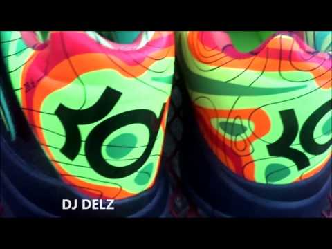 7d85123072f30f Nike KD 4 IV Weatherman Sneaker With  DjDelz