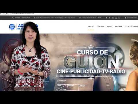Camila Estudiante de Audiovisuales Academia Barter Rubio 🚀!!!