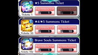 Bleach Brave Souls, The Best 4-5 Star Ticket Summons Ever!