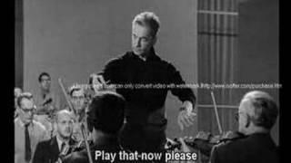 Karajan - Rehearsal of Schumann