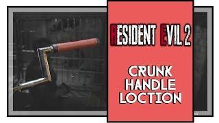 Resident Evil 2 Remake Crank Handle Location