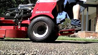 Gravely 36' spring mowing, Sydney South