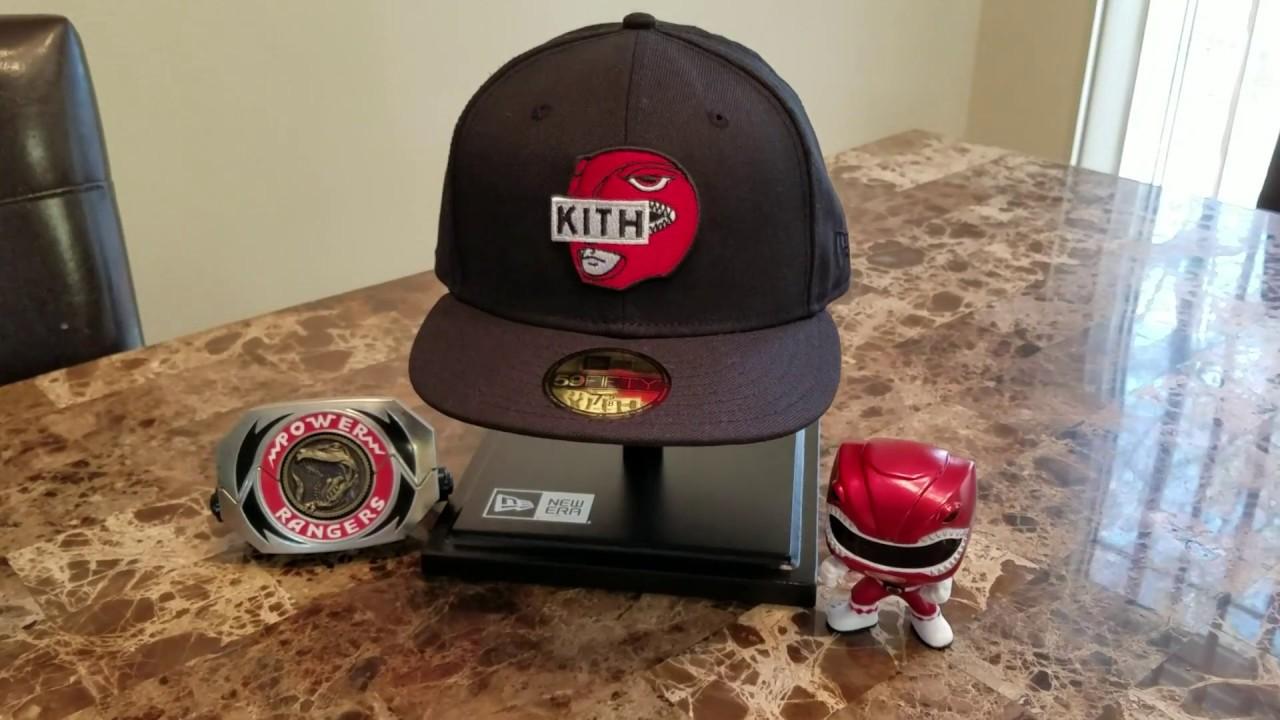 54da7fdbbbdc9 Kith Power Rangers New Era Cap - YouTube