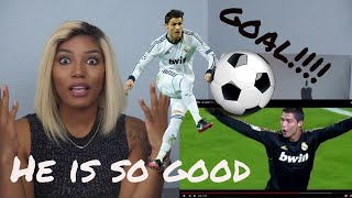 Clueless new american sports fan reacts to  Cristiano Ronaldo Highlights