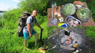 Ловля и приготовление Раков-Зелёный Борщ