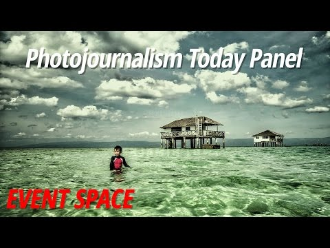 Photojournalism Today Panel with Ira Block, Ben Lowy, Michael Rubenstein Moderated by Rick Smolan