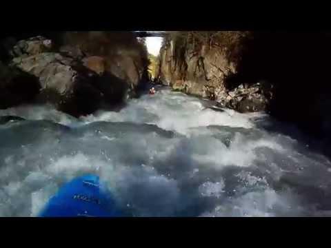 kayaking on the VenterAche
