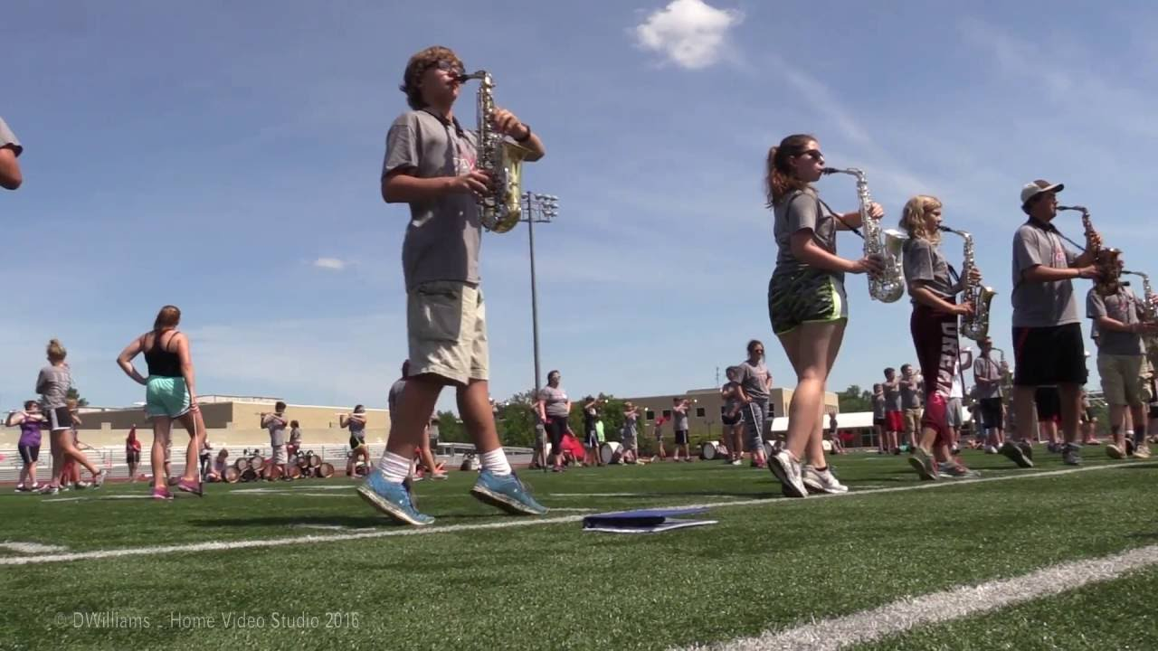 my unforgettable experience at the marching band camp The major focus of the marching band, in addition to gaining valuable musical concepts, experiences and marching fundamentals, will be on teamwork and a cooperative atmosphere out-of-town band camp the last week before fall sports start.