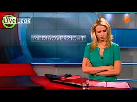 Funny - Dutch News Reporter Falls Asleep During The News