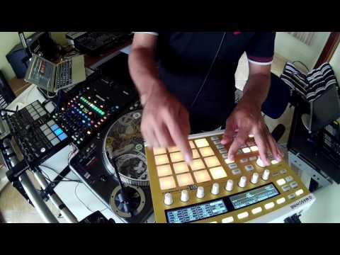 Serato Sample & Maschine - Quick Test - By Fernando Midi