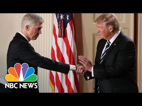 President Trump Selects Neil Gorsuch For Supreme Court | NBC News