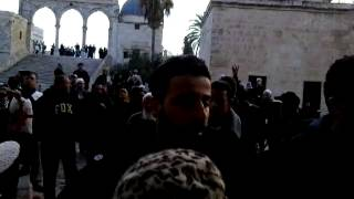 "Arabs ""welcome"" Jews to the Temple Mount"