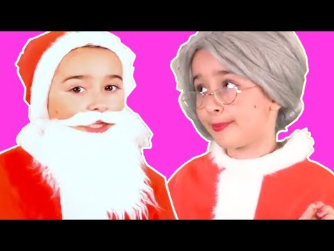SANTA IS MISSING  KIDDYZUZAA Mini Movie  Christmas Special  Princesses In Real Life  Christmas