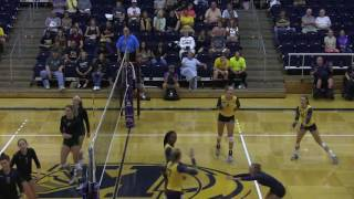Kent State Volleyball vs Wright State 09/02/16