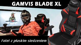 Gamvis Blade XL | Wygodny fotel gamingowy z płaskim siedzeniem | Unboxing i Recenzja