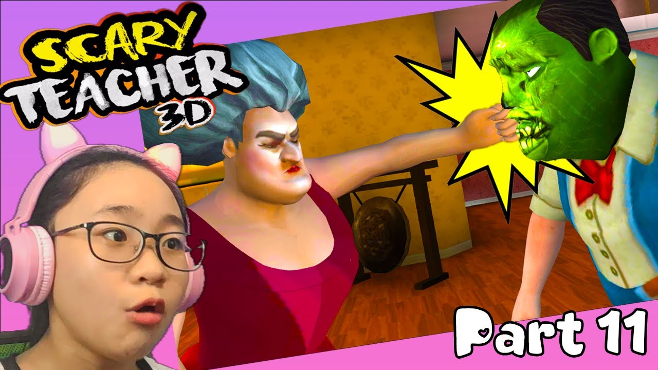 Download Scary Teacher 3D New Year Festivities - Gameplay Walkthrough Part 11 - Let's Play Scary Teacher 3D!!