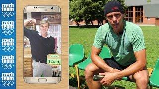 Adam Sebastian Helcelet ukázal své svaly i dort | Samsung Shuffle