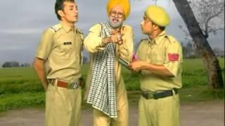 chach bishna and gabbar comedy  punjab police  directed by santa banta   YouTube