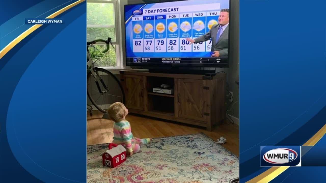 10-month-old claps after each Kevin Skarupa forecast