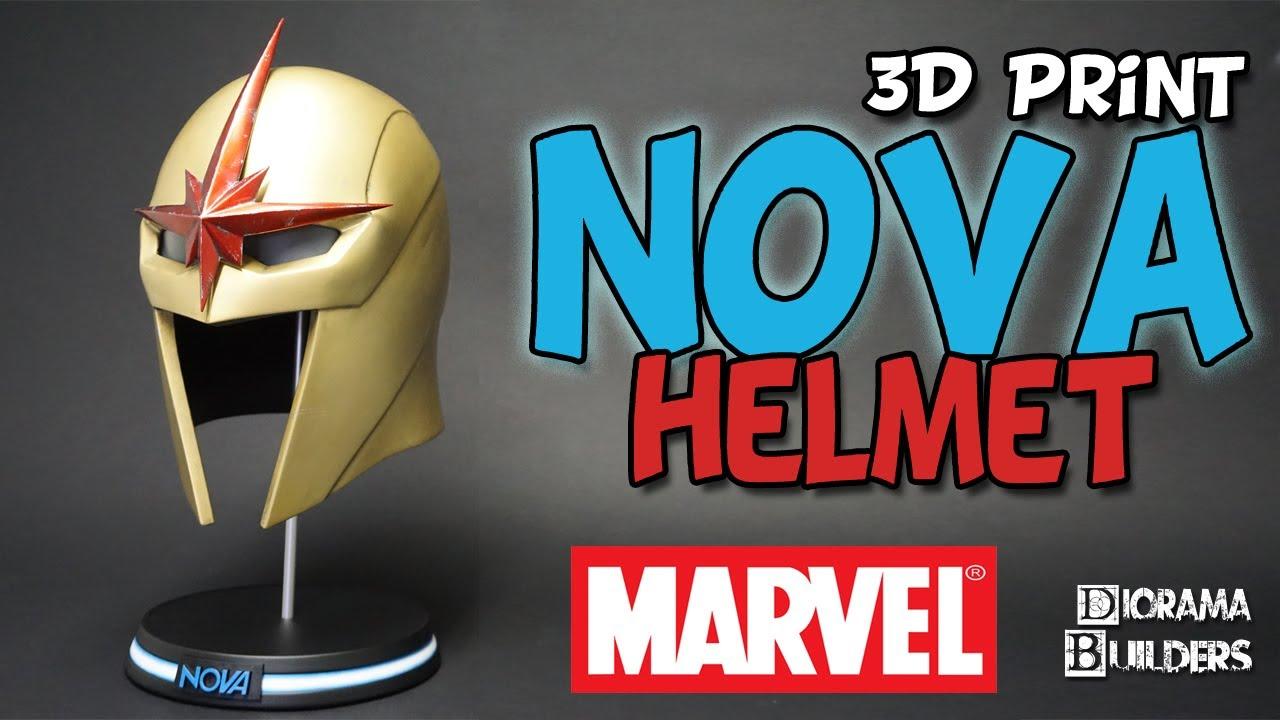 Nova Helmet Marvel Studios MCU 3D Print