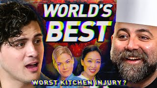 I spent a day with CELEBRITY CHEFS (Duff Goldman, Judy Joo, Cat Cora)