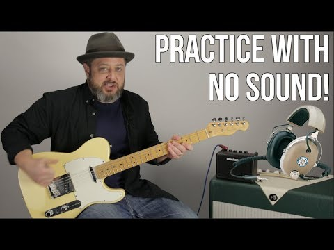 Tools to Practice Guitar Quietly - How to Practice Guitar Late at Night