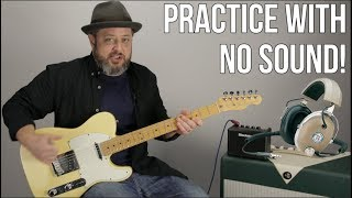 Practice Guitar Quietly - How to Practice Guitar Late at Night