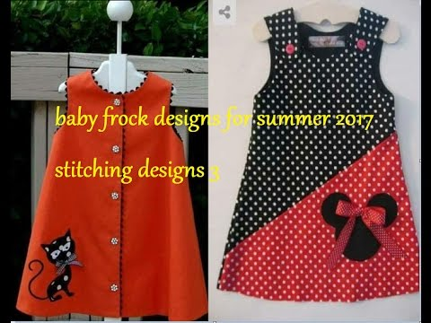 Baby Frock Designs For Summer 2017 Stitching Designs 3