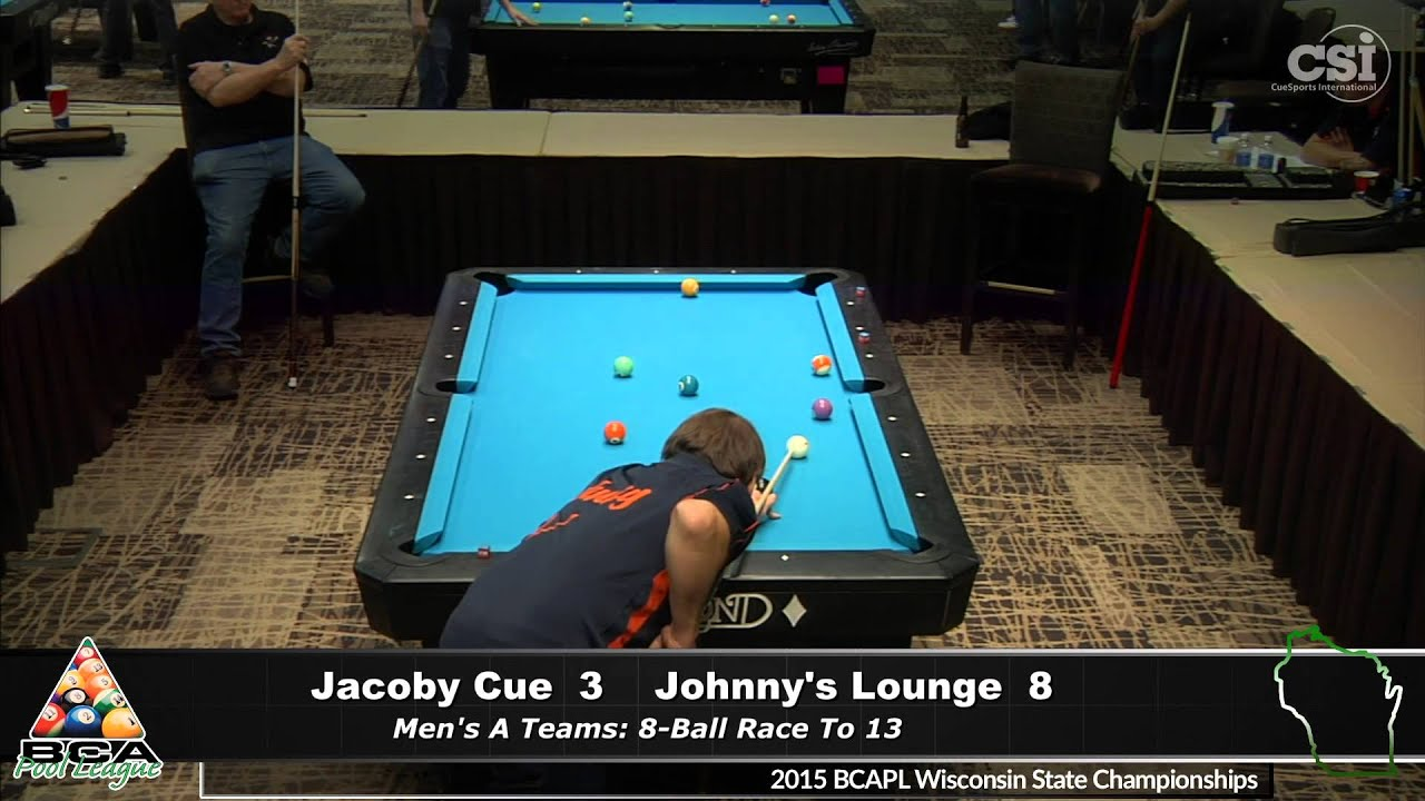 Jacoby Cue vs Johnny's Lounge (Men's A Teams)