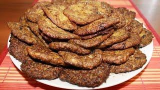 Печень по-алтайски. Оладьи из печени. Печеночные оладьи.(Печень по-алтайски. Оладьи из печени. Печеночные оладьи. Это очень нежное блюдо,его можно подавать отдельно,..., 2015-07-15T12:56:33.000Z)