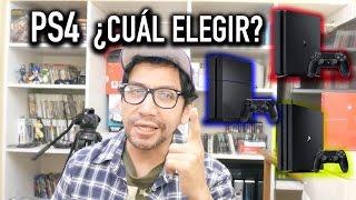 PS4 -  PS4 SLIM - PS4 PRO    ¿CUÁL ELEGIR ?