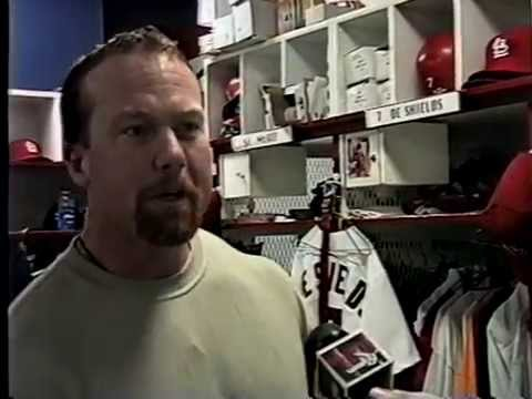 MCGWIRE 1998 INTERVIEW St. Louis Cardinals & he was angry