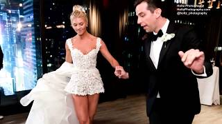 This Is What a First Dance at A Wedding Looks Like When You're Broadway Stars