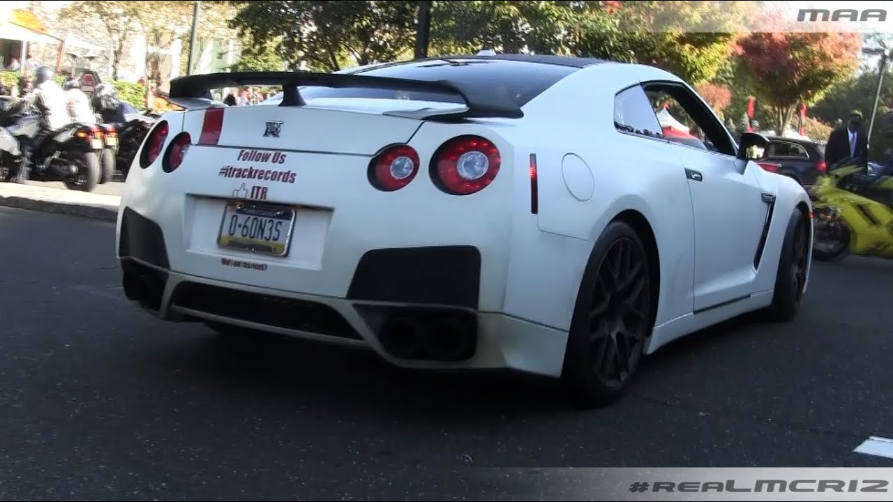 tuned nissan gtr r35 acceleration youtube. Black Bedroom Furniture Sets. Home Design Ideas